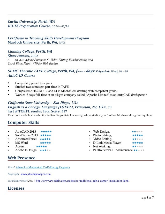 resume afsaneh cooper oct 2013 academic