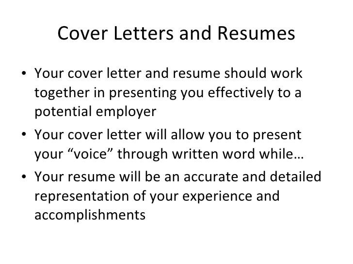 Cover Letter & Resume Writing