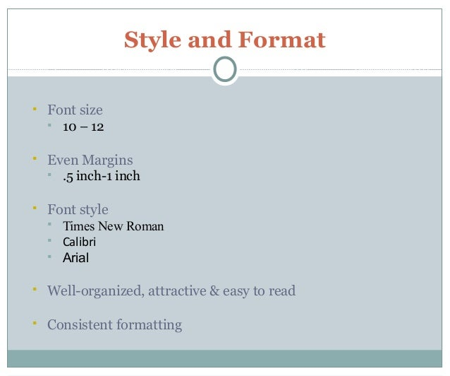 Font Size In Resumes   Jianbochen.com