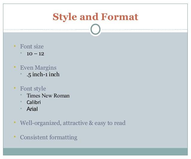 Wonderful Sample Resume Font Size Sample Good Resume Resume Cv Cover Letter   Letter Size  Resume Paper