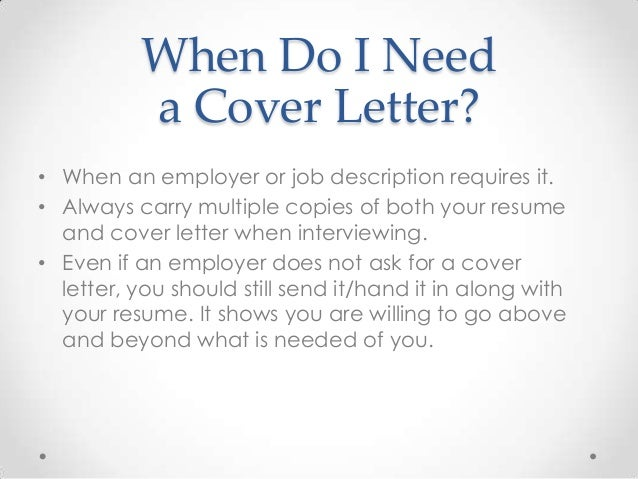 Signature Respectfully, Sign Your Name Print Your Name ...  Does A Resume Need A Cover Letter