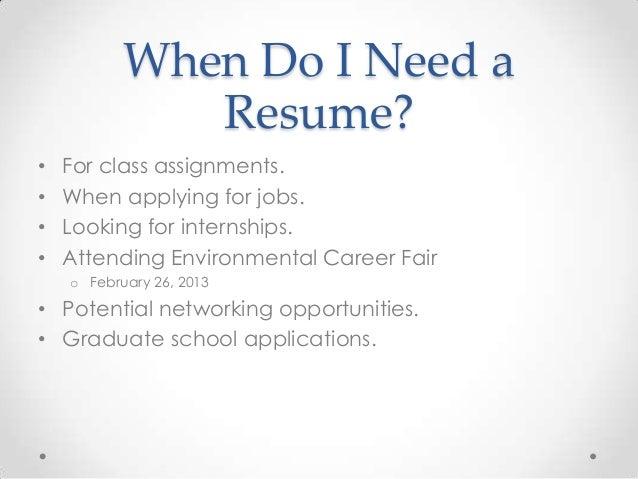 career development workshop resume and cover letter basics