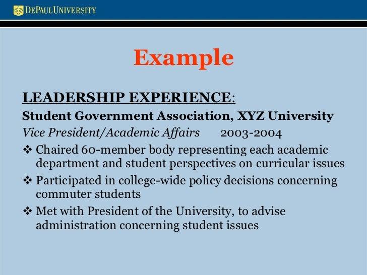 Personal leadership philosophy.