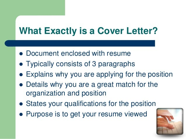 Examples Of A Cover Letter Should Include What What Do Cover Letters With What  Should A  What Does A Resume Cover Letter Consist Of