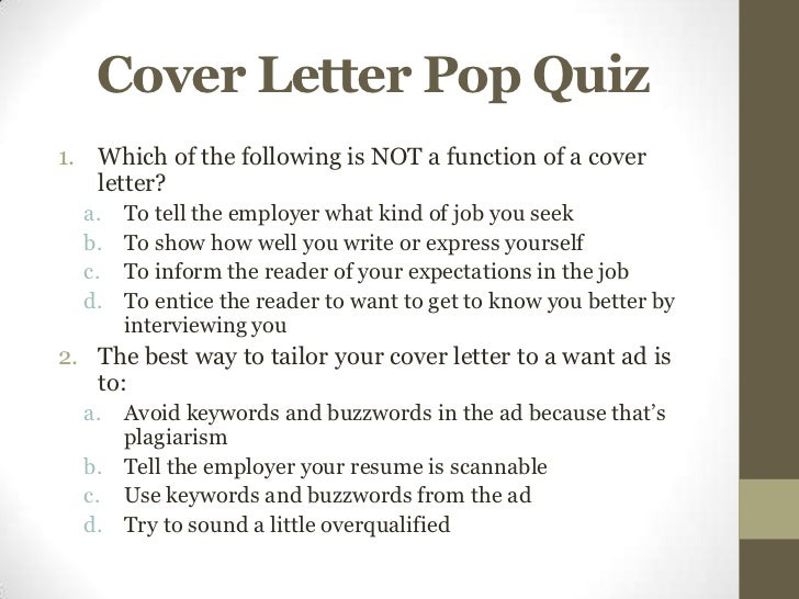 Overqualified Cover Letter