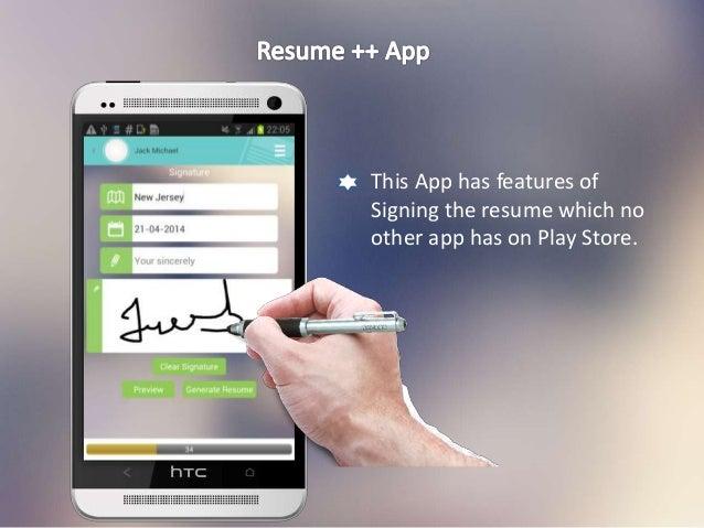 SlideShare  Resume App