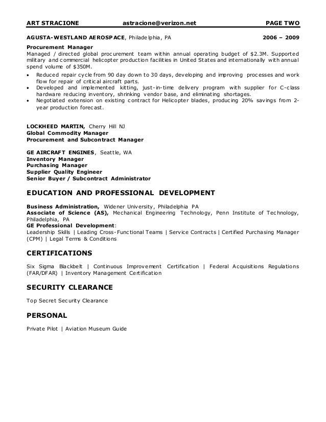 resume art stracione resume 20117