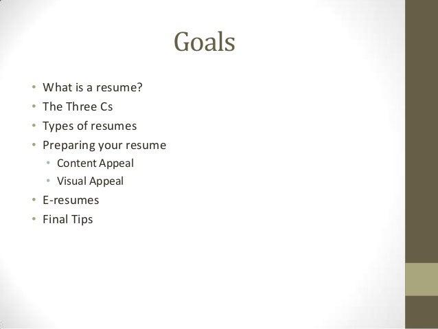 resume basics 2