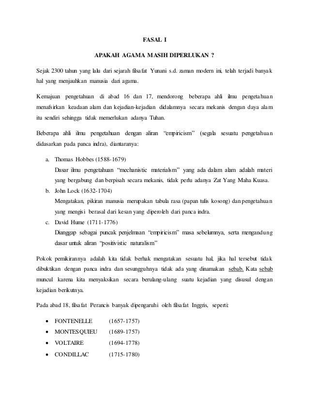 resume buku empat kuliah agama islam pada perguruan