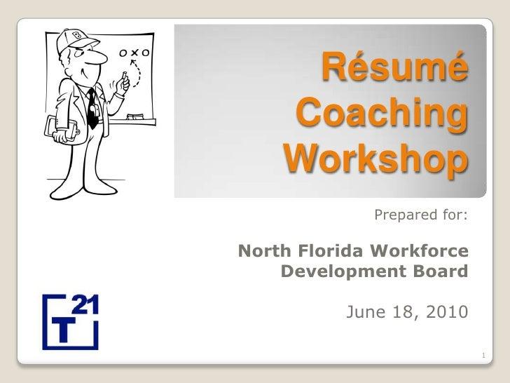 Resume Coaching Workshop (Final)