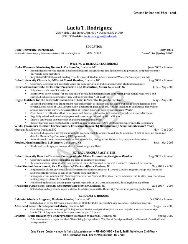 Sample Resume Resume Sle For Economics Teacher Sles  Economics Major Resume