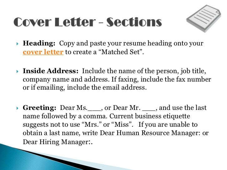 Beautiful ... Writing Ability; 3.  Heading: Copy And Paste Your Resume Heading Onto  Your Cover Letter ...  Copy And Paste Cover Letter