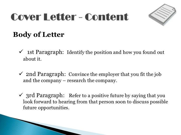 pictures of cover letters