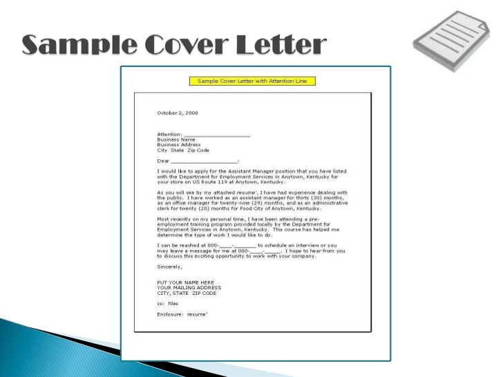 SlideShare  Cover Letter Sign Off