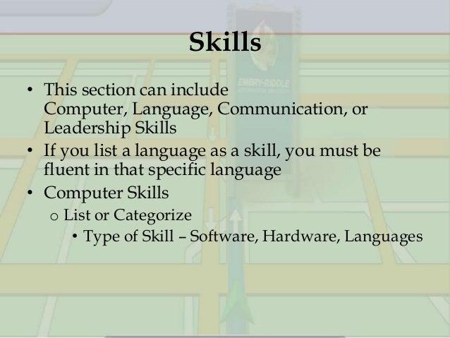 Awe Inspiring Listing Skills On Resume Examples Brefash Listing Skills On A  Resume Example Listing Computer