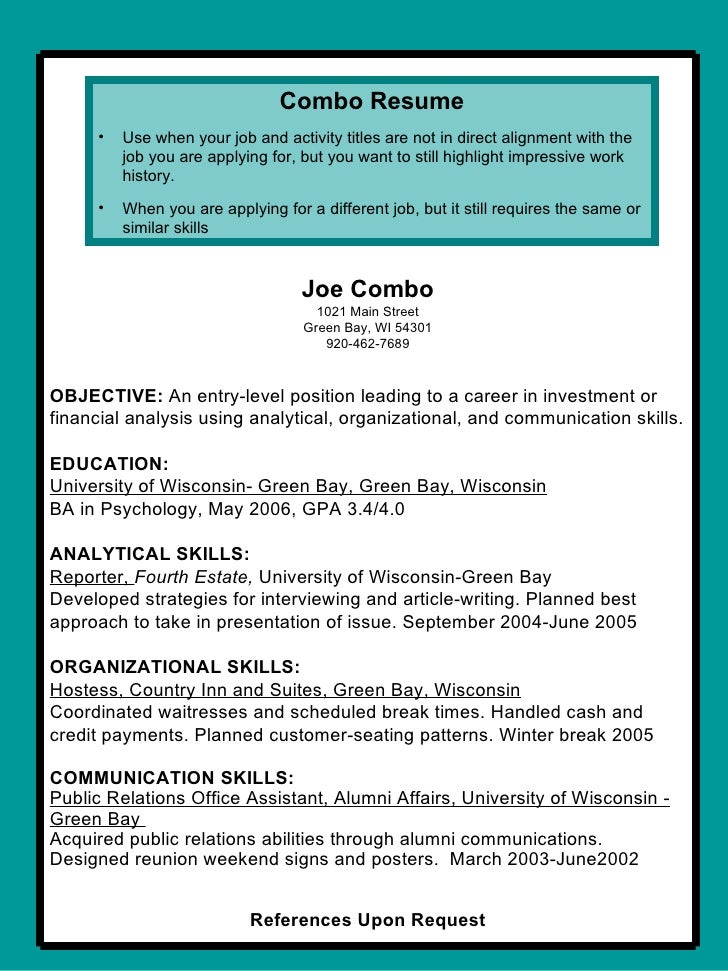 resume and coverletter workshop 2009