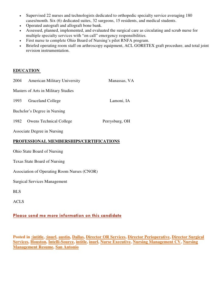 Perfect Nursing Resume Services Regarding Military Resume Writers