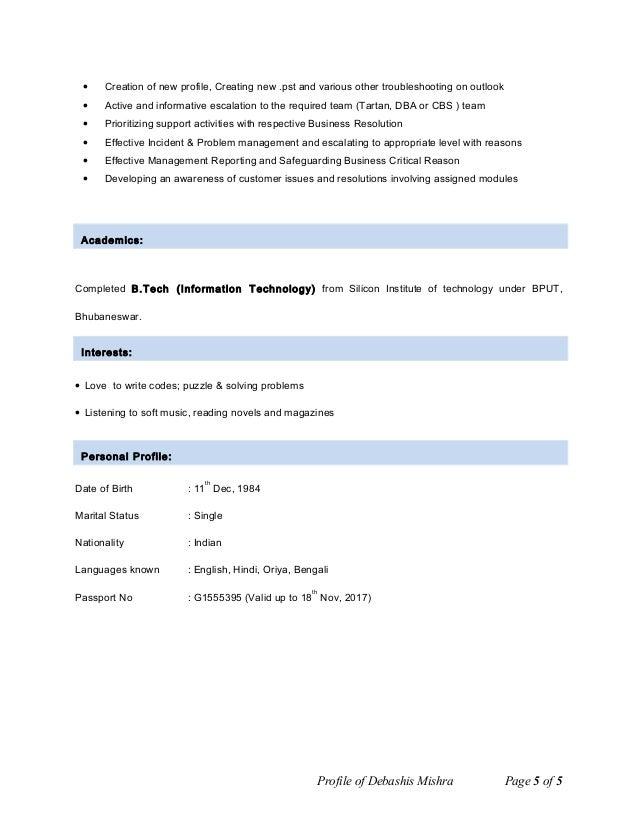 Software Engineer Resume Example