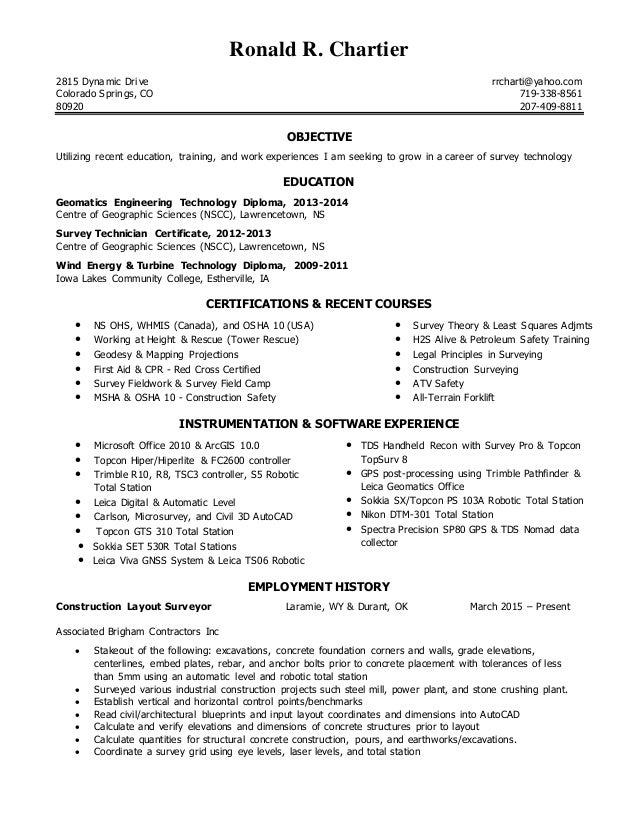 Resume dec 2016 usa