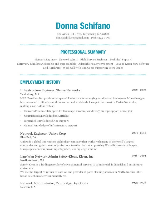 Sample Resume Example Resume Template For Software And Network Engineer  With Professional Experience Sample Scribd  Hardware Engineer Resume