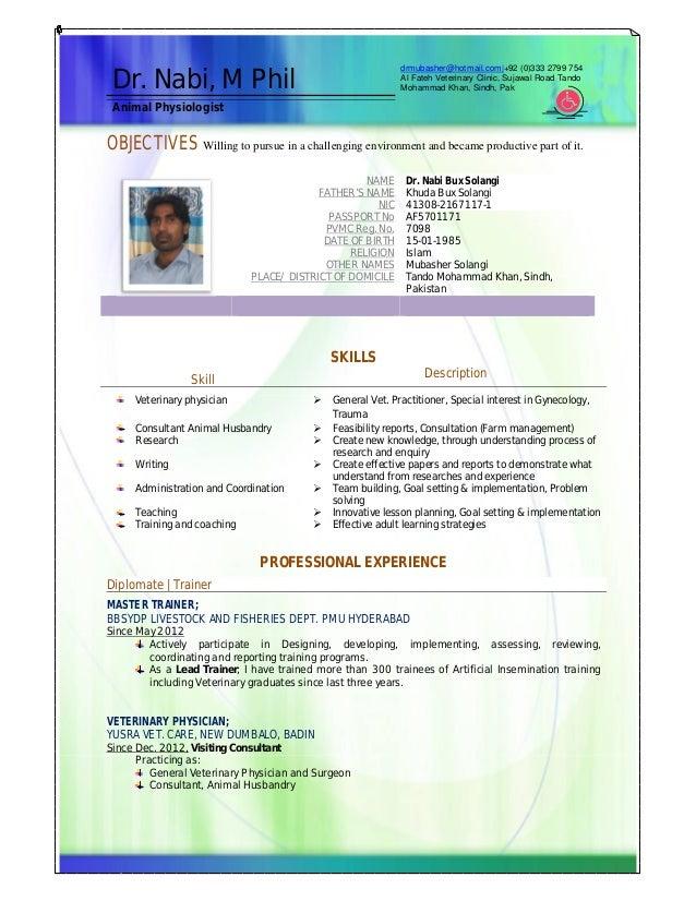 Resume Dr Mubasher