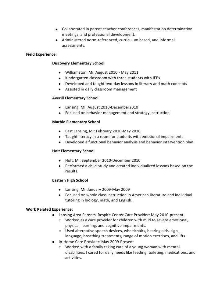 Resume draft – Resume Draft