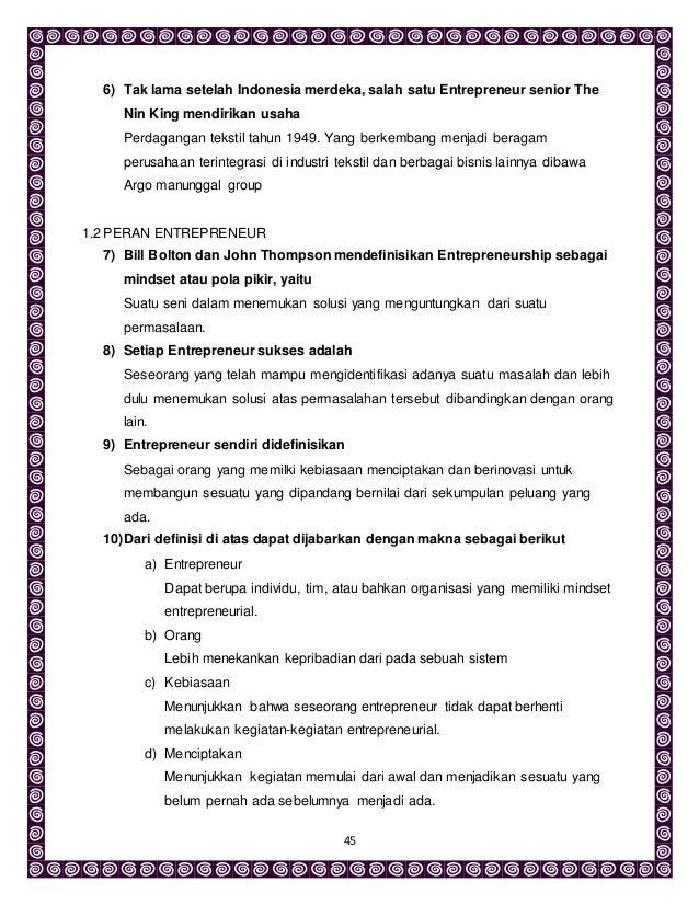 entrepreneur sample resume