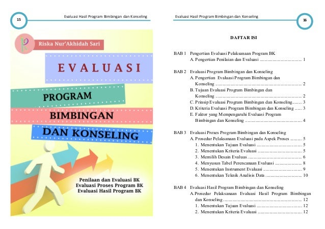 Resume Evaluasi Program Bk