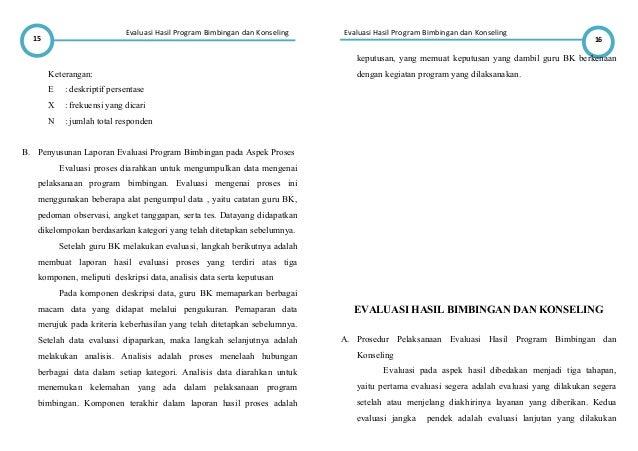 Resume Evaluasi Program Bk
