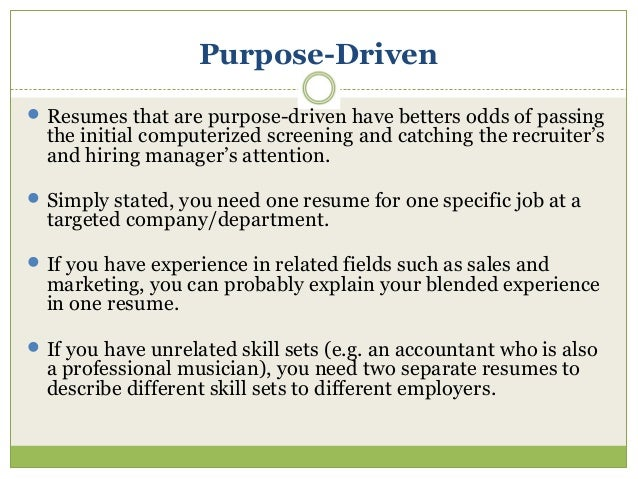 How to explain sales experience on a resume