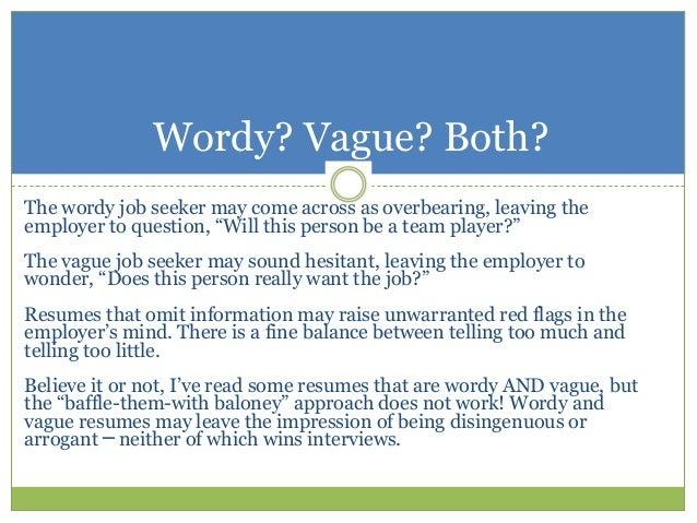 Resume Evaluation In Three Words - Resume evaluation