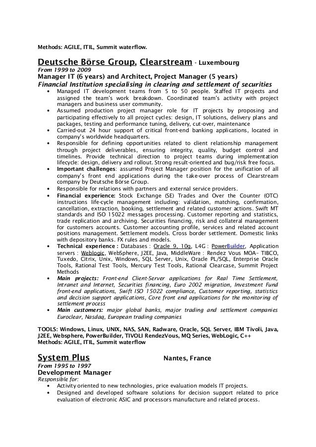 Colorful Websphere Process Server Administrator Resume Elaboration ...