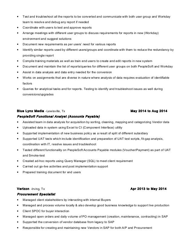resume fb analyst