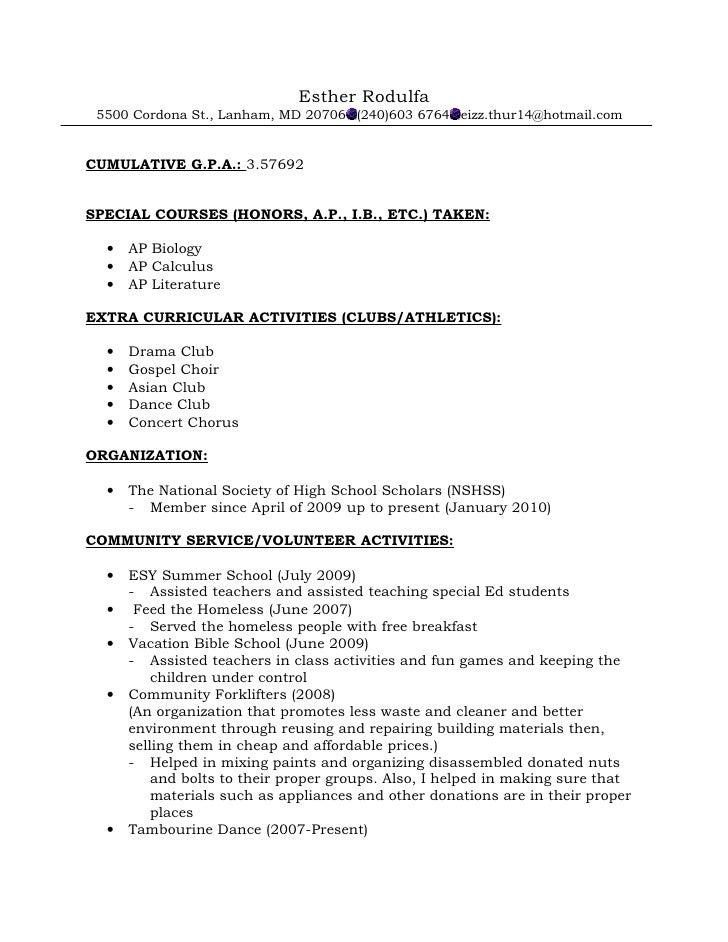 best sample resume letter recommendation