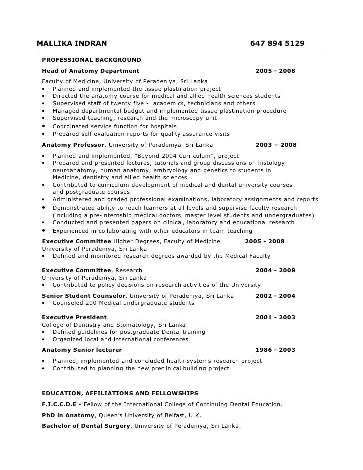Resume For Project Manager Position Pinterest