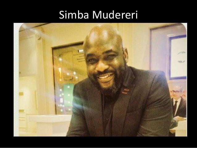 Simba Mudereri
