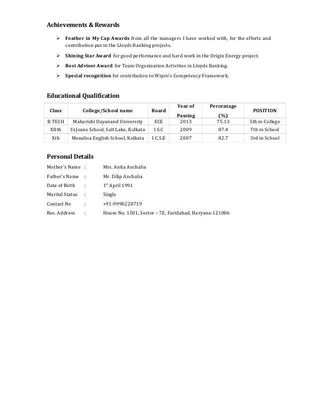 resume gaurav a