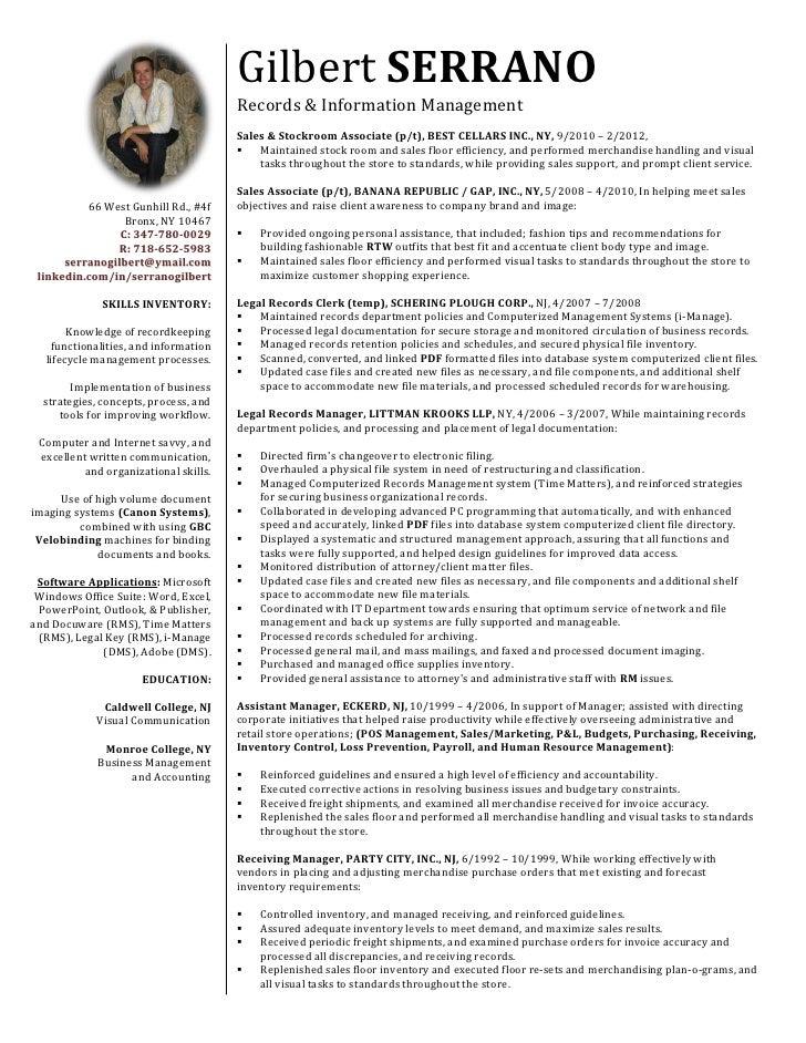 resume  gilbert serrano 21