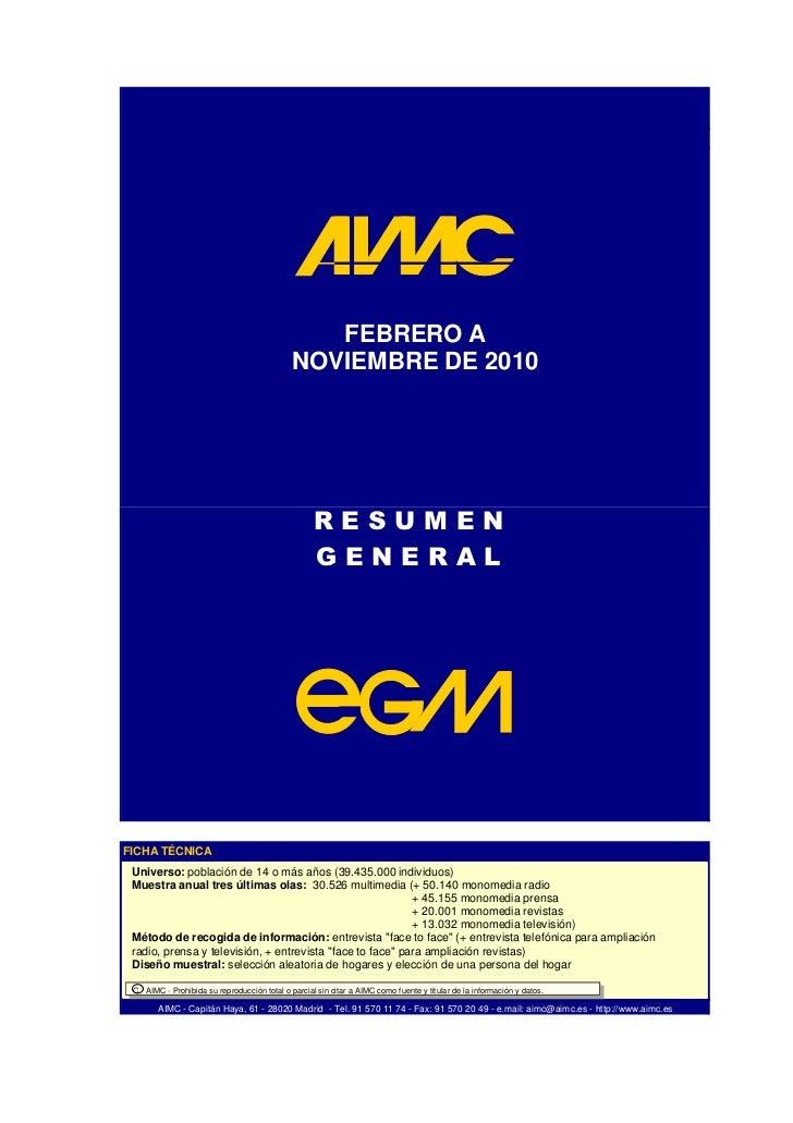 EGM Ola 3 2010  febrero-noviembre