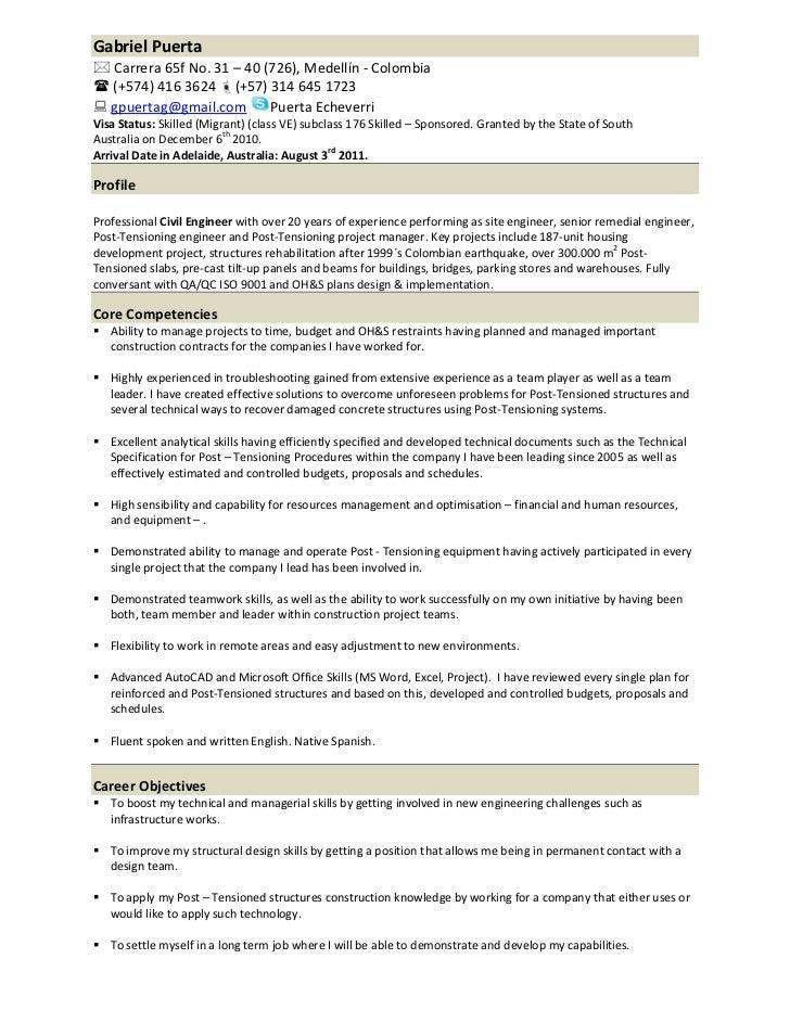 resume gp
