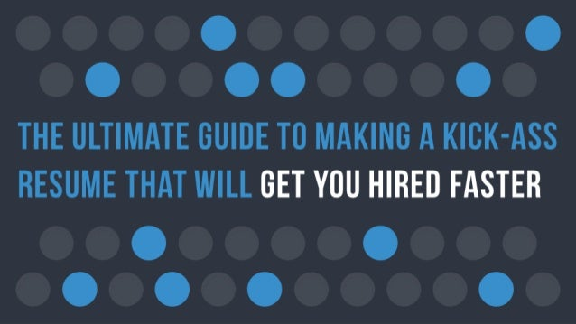 resume that will get you hired faster 2