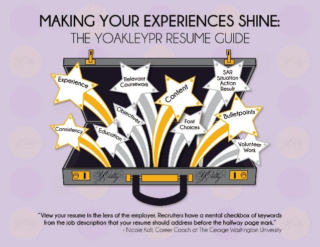 Making Your Experiences Shine: The YOakleyPR Resume Guide
