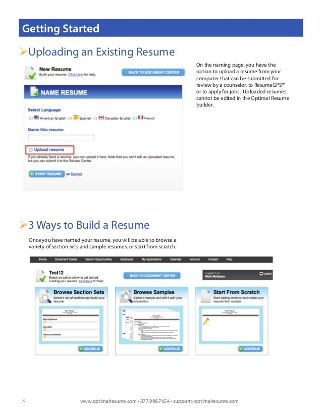 how to build a resume from scratch