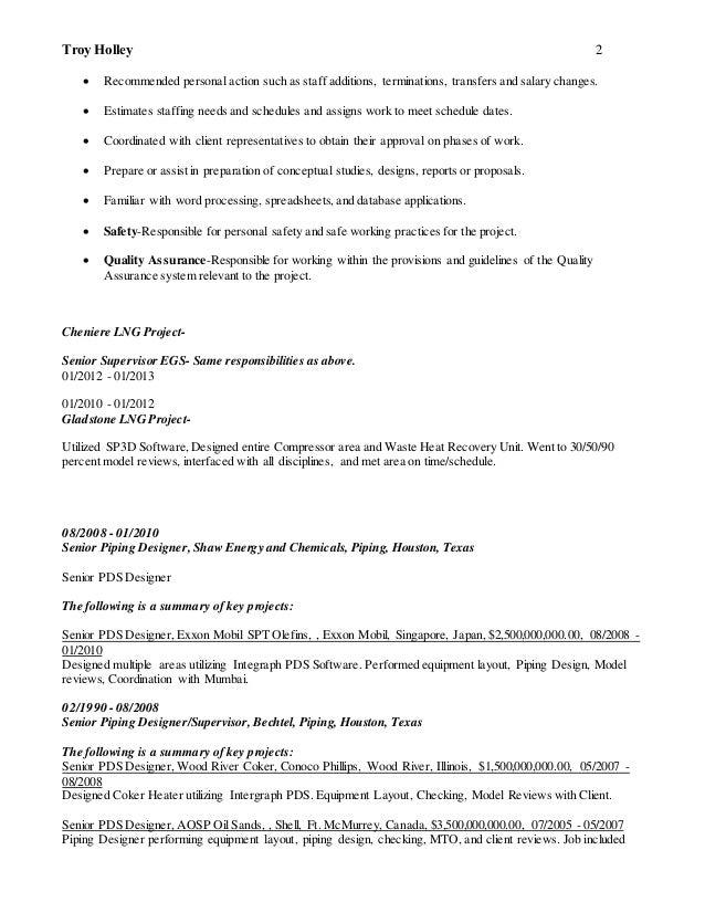 Resume holley troyhilite