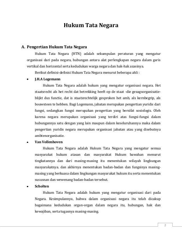 resume hukum tata negara