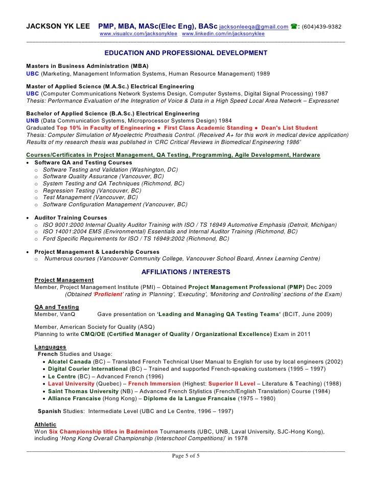 Configuration Management Analyst Sample Resume
