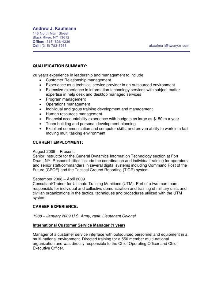 Resume Kaufmann Dec09 2