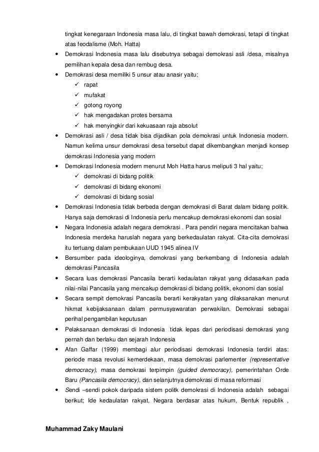 resume kewiraan muhammad zaky maulani