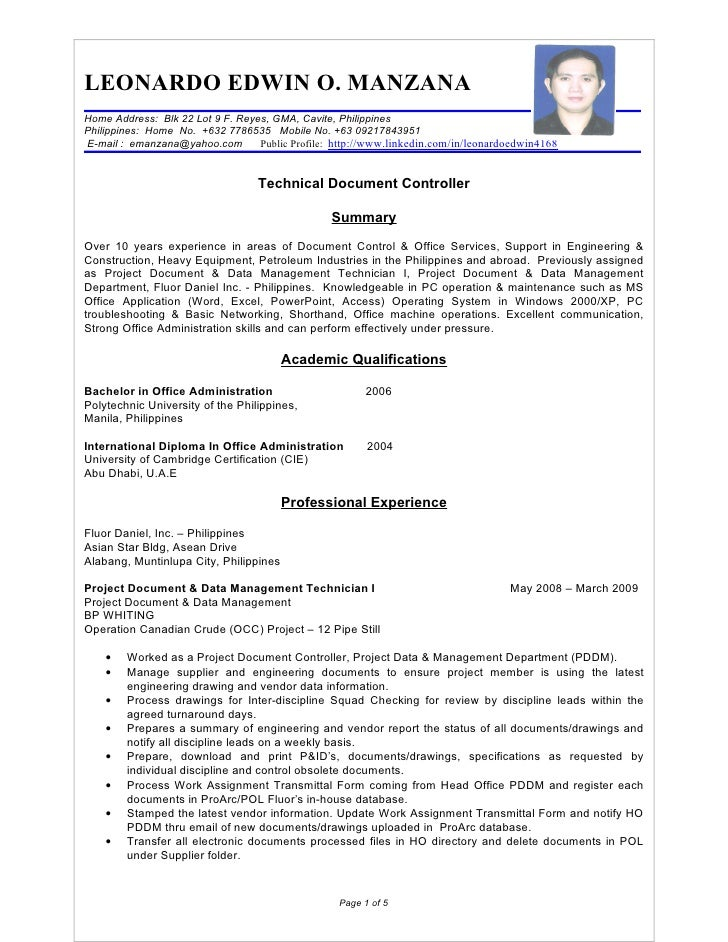 Sample Resume For Ojt Computer Technician Resume Ixiplay Free