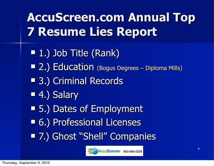 resume lies fraud enablers